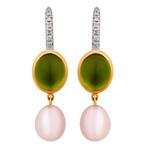 Mimi Milano 18k Two-Tone Gold Multi-Stone Earrings IV