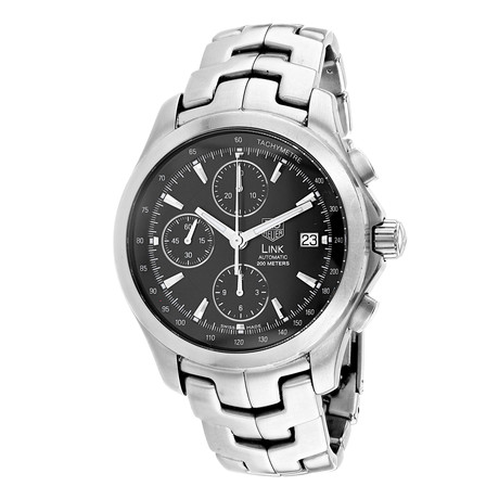 Tag Heuer Link Chronograph Automatic // CJF2110 // Pre-Owned