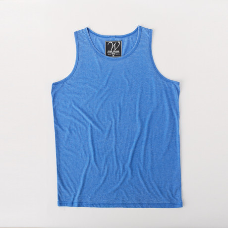 Ultra Soft Sueded Tank Top // Royal Blue (S)