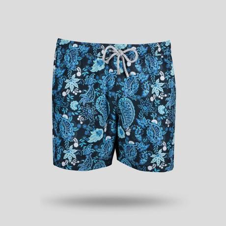 Flow All Over Swim Short // Navy (S)