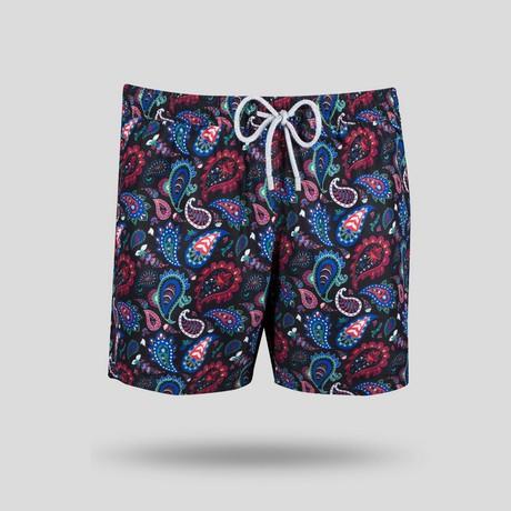 Maine All Over Swim Short // Multicolor (S)