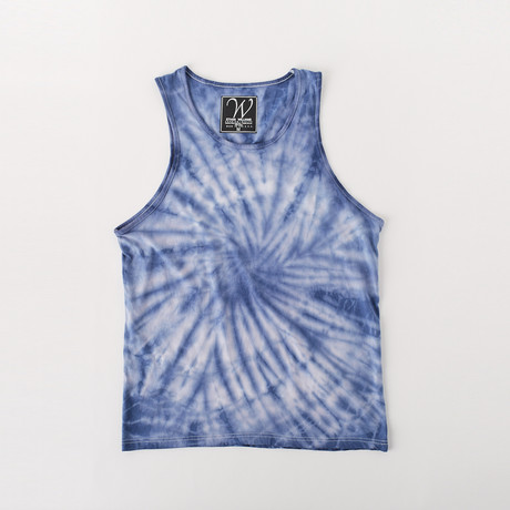 Ultra Soft Sueded Tank Top // Navy Twist (S)
