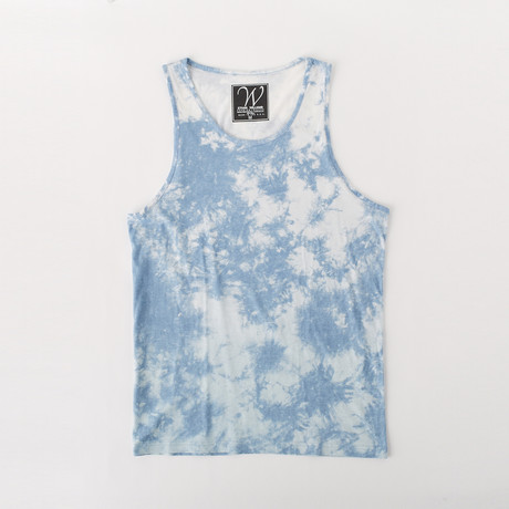 Ultra Soft Sueded Tank Top // Blue Clouds (S)