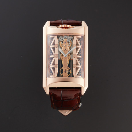 Corum Golden Bridge Stream Bridge Automatic // 313.100.55/0F02 SB01R // New
