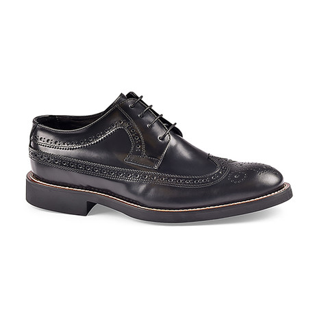 Sondrio Brogue // Black (US: 8)