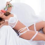 Chloe Suspenders // White