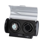 Double Rogue Watch Winder (Silver Accent)