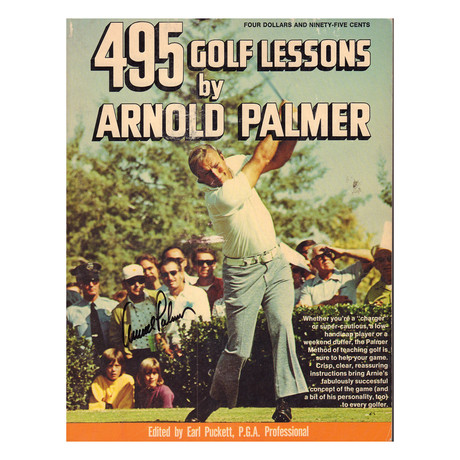 Arnold Palmer // 495 Golf Lessons