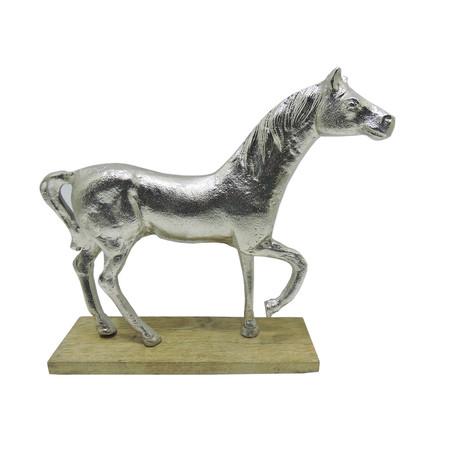 Horse Statue // Silver Finish