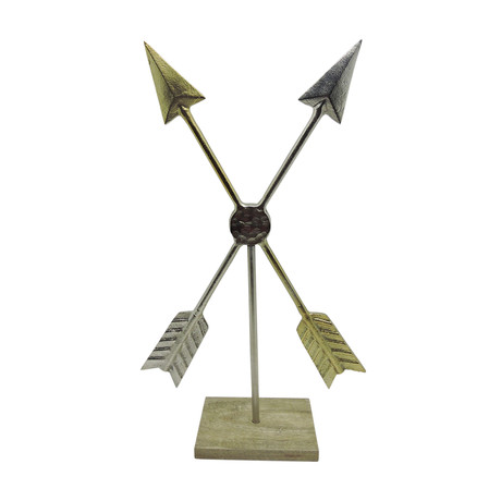 Double Arrows Statue