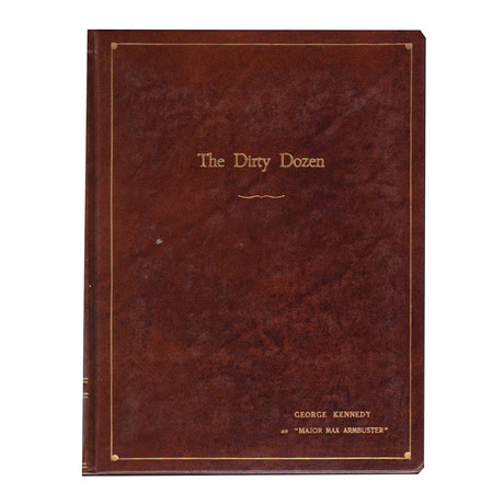 """The Dirty Dozen"" // Set-Used Script // One Of A Kind"