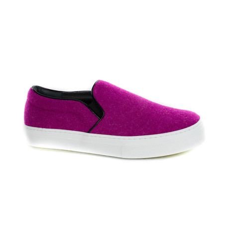 Slip-On Sneaker // Purple (Euro: 35)