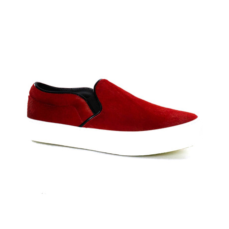 Slip-On Sneaker // Red (Euro: 35)