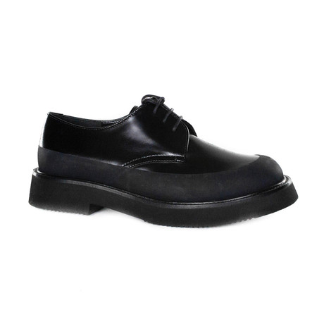 Lace Up Derby // Black (Euro: 35)
