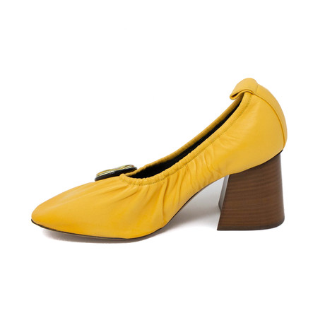 Block Heel // Yellow (Euro: 35)