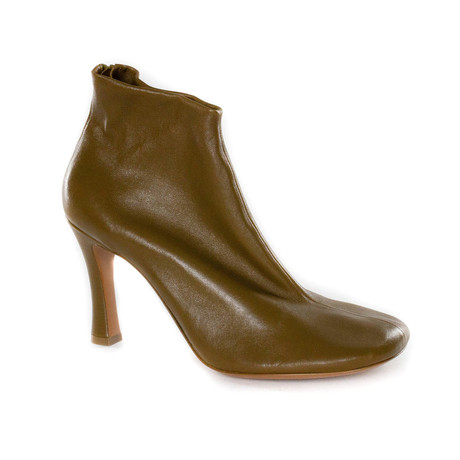 Heeled Ankle Boot // Light Brown (Euro: 35)