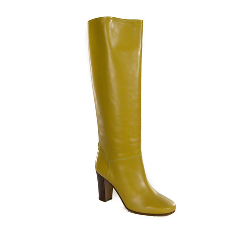 Leather Boot // Ocre (Euro: 35)