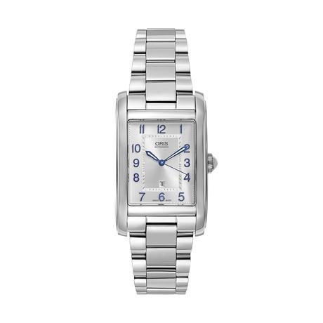 Oris Rectangular Date Automatic // 01561769340310782220 // New