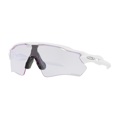 Radar EV Path Sunglasses // Polished White Frames + Prizm Low Light Lenses