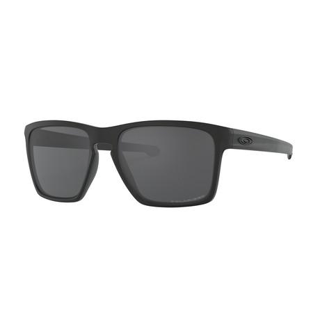 Sliver XL Sunglasses // Matte Black Frame + Gray Polarized Lenses