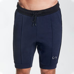 Splice Shorts // Deep Navy (M)