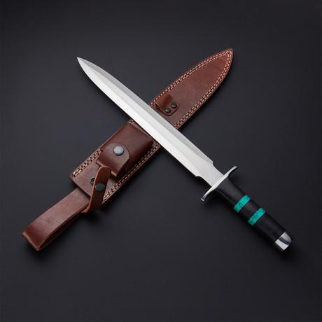 Turquoise Large Toothpick Dagger