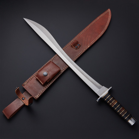 Modern Falcata Kopis Short Sword