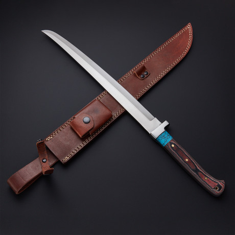Turquoise Modern Katana Sword