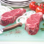 Choice Boneless NY Strip Steak // 8 Pieces