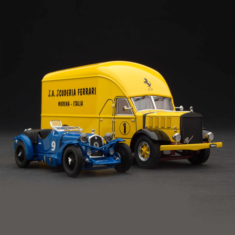 Transport Ferrari: 1934 Alfa Romeo Scuderia Ferrari Transporter / Le Mans