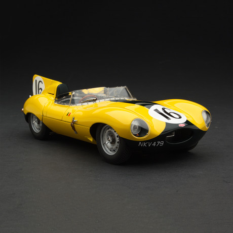 1954 Exoto Jaguar D-Type 'Short Nose' // Equipe Nationale Belge