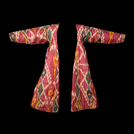 Ikat Chapan Tunic // Uzbekistan // 19 Century CE // 2