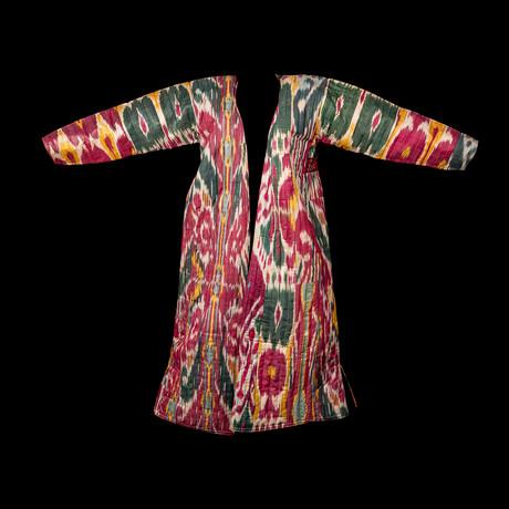 Ikat Chapan Tunic // Uzbekistan // 19 Century CE // 1