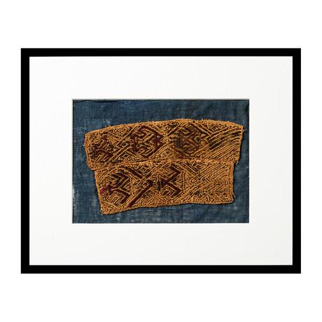 Proto-Nazca Pre-Columbian Textile with Avian Motif // Peru // 100BCE - 200 CE