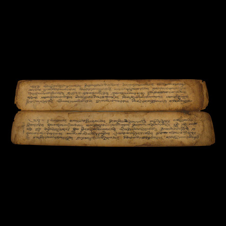 Hand-Written Sutra Manuscript // Tibet // 19th Century CE // 1