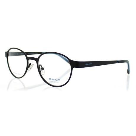 Gant // Men's 3045-P93 Round Satin Frames // Black