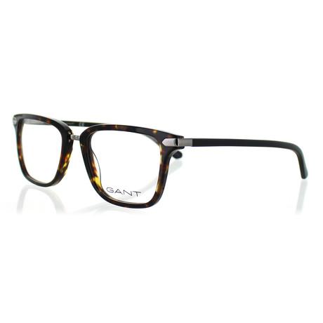 Men's 3116-052 Square Frames // Dark Havana