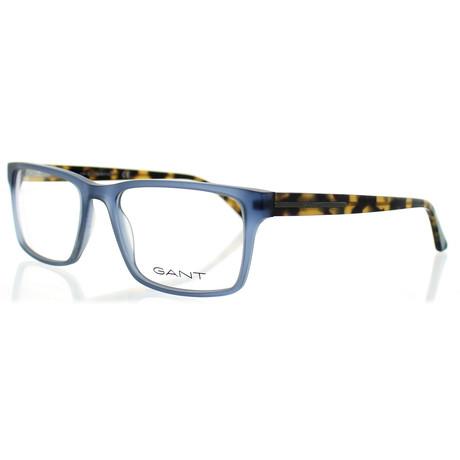 Men's 3154-092 Square Frames // Matte Blue + Tortoise