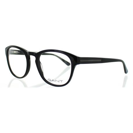 Gant // Men's 3153-001 Round Frames // Black