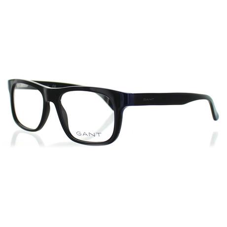 Men's 3157-001 Square Frames // Black