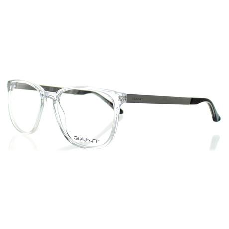 Men's 3180-026 Square Frames // Clear Crystal