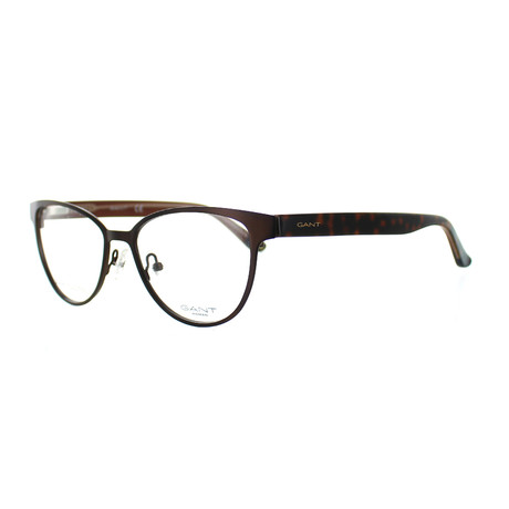 Women's 4055-049 Cat-Eye Frames // Matte Dark Brown