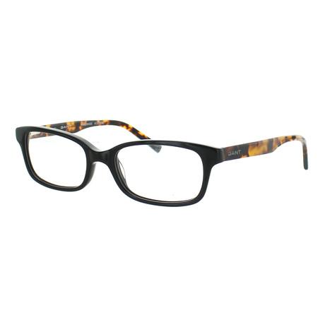 Men's 4056-001 Rectangle Frames // Black