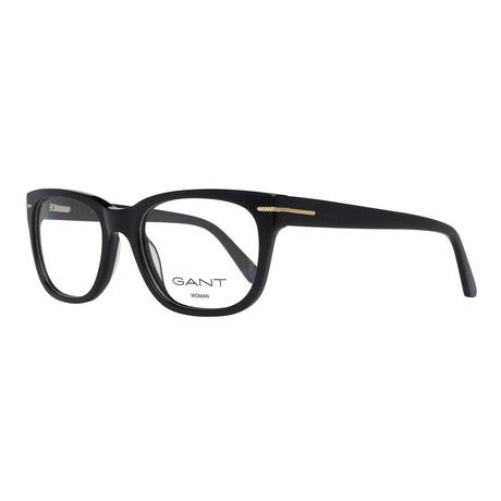 Women's 4058-001 Square Frames // Black