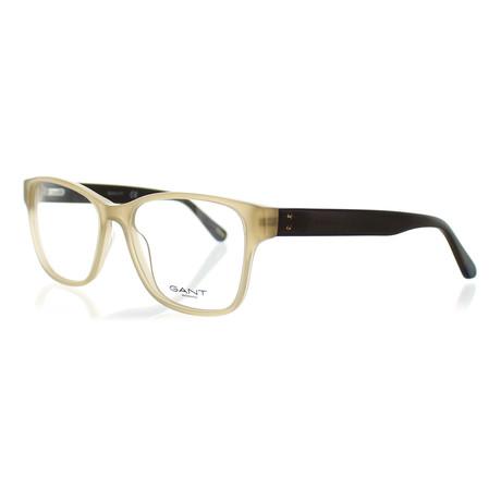 Gant // Women's 4065-045 Square Frames // Shiny Light Brown