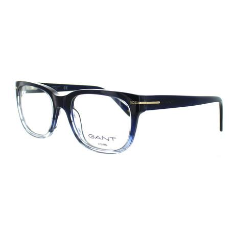 Women's 4058-092 Square Frames // Blue + Gray