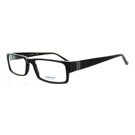 Unisex A015 Rectangle Frames // Black