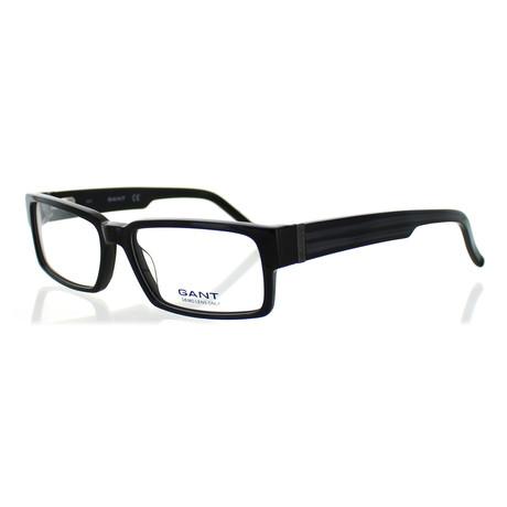 Men's A030 Rectangle Frames // Black