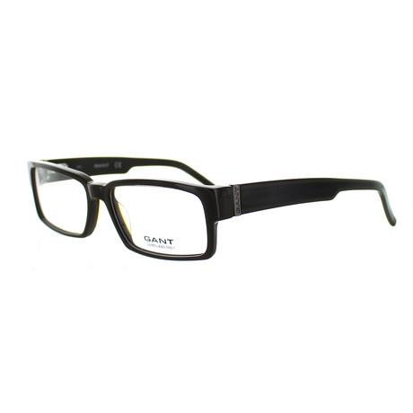 Men's A030 Rectangle Frames // Brown
