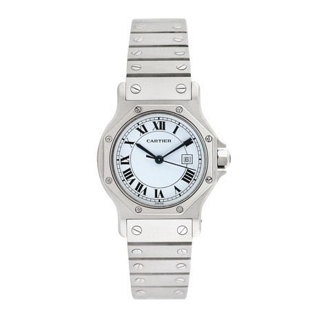 Cartier Santos Octagon Automatic // Pre-Owned